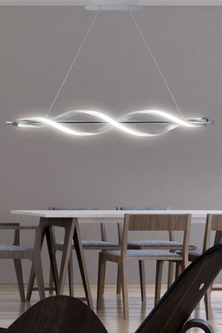 LAMPARA LED STEFANY 3084BA CROMO 35W 4000K 3150LM
