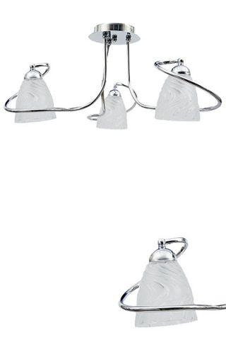 LAMPARA FLAVIO CROMO 3 LUCES E14