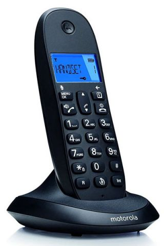 TELEFONO MOTOROLA DECT C1001L NEGRO