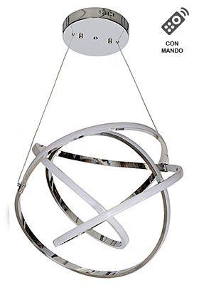LAMPARA LED AROS AK652 50D 4000K 100W CON MANDO